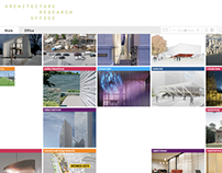 Architecture Research Office Website