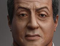 Stallone Portrait