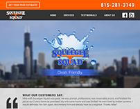 Squeegee Squad New Lenox Website Design & Development