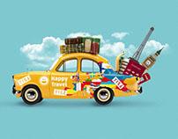 "Site Travel agency ""Happy Travel"""