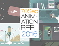 2D Animation Showreel 2016