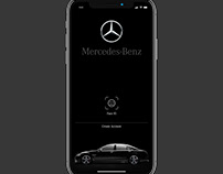 Mercedes Benz - Mobile app | cars | Luxury Car | iOS
