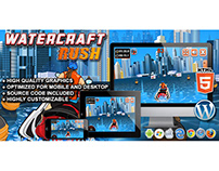 HTML5 Game: Watercraft Rush