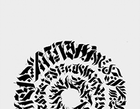 Calligraffiti Calligram