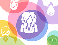 Free People Icon set