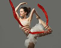 Ballerina's body
