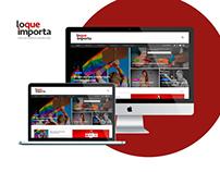 Diseño Web - loqueimporta.com