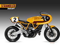 SCRAMBLER DUCATI 1100 LEGENDS SERIES F. UNCINI