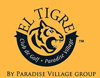 """Brochure triptych """"El Tigre"""""""