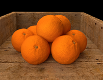 Naranjas en Blender 2.79b