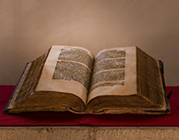 Old book of St. Lawrence