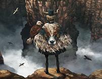 NEST/鳥の城と山羊のマント