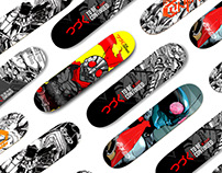 Tobecontinued Skate Decks I Vol.1