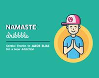 Namaste Dribbble