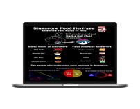 Singapore Food Heritage Poster