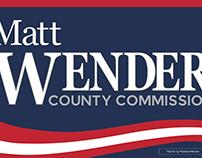 Matt Wender Campaign