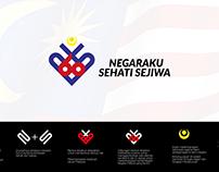 LOGO Kemerdekaan Ke-60 Negaraku Sehati Sejiwa