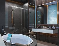 Yacht Bathroom.