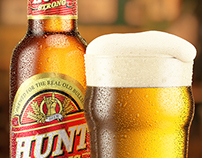 HUNT Beer CGI