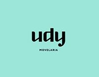 Identidade visual para Udy Movelaria