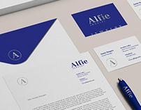 Alfie Jewelry branding