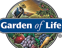 Garden of Life Logo Illustrated by Steven Noble
