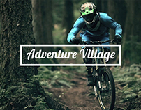 Adventure Village Kandy - Website Interface