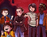 Stranger Things – The Gang