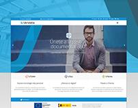 Veridata - Brand Identity & Projects 2016