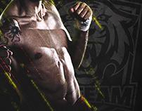 Ezequiel Silva Logo - MMA