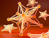 Christmas stars - 3D