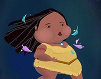 The Chubby Disney Princesses