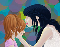 Fairy kiss (an old work)