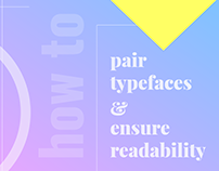 How to Pair Fonts & Ensure Readability [Infographic]