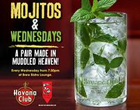 Havana Rum Mojito Wednesdays