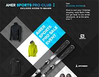 Amer Sports Pro Club identity