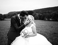 Wedding reportage in Hameln, Germany