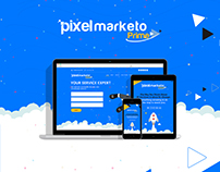 Pixelmarketo Prime Coming soon