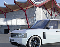Projeto Land Rover 3D Max