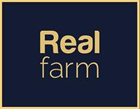 Real Farm - Milk Packaging