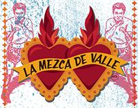 Rediseño de logotipo e imagen para La Mezca