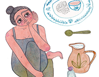 Editorial Illustration for Soup