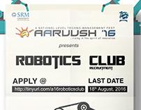 Robotics Club - Aaruush