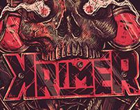 Poster Krimer - Australian Tour - UK