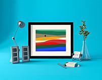 4 Free Abstract Wallpaper Vectors 1