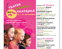 Youth and children theatre festival marketing materials