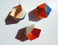 Poligons - Ceramics Containers