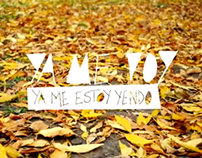 Ya me voy - CD & Videoclip - Sonoridades Visuales