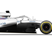 Williams FW41 Illustration
