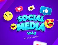 Social media Vol.3 Oscar creativo